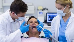 Dentist injecting patient with anesthesia - Dental Anesthesia Pinole,. CA